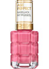 L'ORÉAL PARIS - L'ORÉAL PARIS Nagellack »Age Perfect«, Mit Pflegeöl, rosa, 222 Jardin de Roses - NAGELLACK
