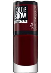 MAYBELLINE - MAYBELLINE NEW YORK Nagellack »ColorShow Nagellack«, rot, 6,7 ml, Nr. 45 cherry on the cake - NAGELLACK