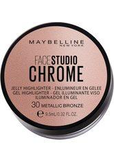 Maybelline New York Highlighter Face Studio Chrome Jelly 30 Metallic B