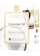FOREO Tuchmaske »Coconut Oil« Packung, 6 x 6 g, kompatibel mit UFO & UFO mini