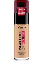 L'Oréal Paris Infaillible 24H Fresh Wear Make-up 140 Golden Beige Foundation 30ml Flüssige Foundation