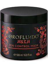 OROFLUIDO - Revlon Professional Haarpflege Orofluido Asia Zen Control Mask 500 ml - HAARMASKEN