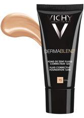 Vichy Dermablend VICHY DERMABLEND Teint-korrigierendes Make-up Nr. 15 opal,30ml Foundation 30.0 ml