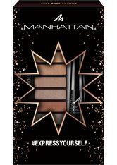Manhattan Eyemazing #Expressyourself Augen Make-up Set 1 Stk Nr. 001 - Nude Edition + Nr. 1010N - Back