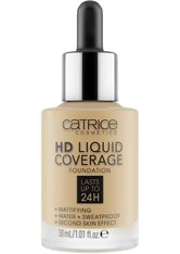Catrice Teint Make-up HD Liquid Coverage Foundation Nr. 035 Natural Beige 30 ml