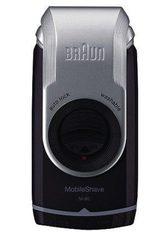 Braun Elektrorasierer M90, Langhaartrimmer, PocketGo MobileShave Reiserasierer