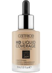Catrice Teint Make-up HD Liquid Coverage Foundation Nr. 044 Deeply Rose 30 ml