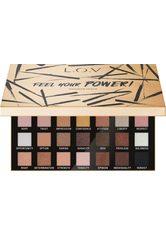 L.O.V - L.O.V - Lidschattenpalette - FEEL YOUR POWER! eyeshadow palette - LIDSCHATTEN