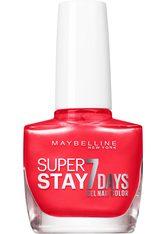 Maybelline Super Stay 7 Days Nagellack 10 ml Nr. 919 - Coral Daze
