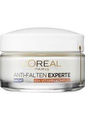 L'Oréal Paris Anti-Falten Experte Stärkende-Pflege Nacht Pflege-Boost-Komplex 65+ 50 ml Gesichtscreme