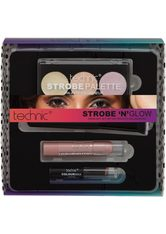 TECHNIC - technic Highlighter-Palette, 4-tlg., inkl. Lippenstift und Pinsel - MAKEUP SETS
