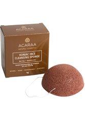 ACARAA Naturkosmetik Reinigungsschwamm »mit Tonerde«, unreine Haut, biologisch abbaubar