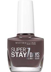 MAYBELLINE - MAYBELLINE NEW YORK Nagellack »Superstay 7 Days«, braun, Nr. 900 Huntress - NAGELLACK