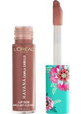 L'ORÉAL PARIS Lipgloss »Havana Camila Cabello«, braun, 6,8 ml, 03 Desnudo