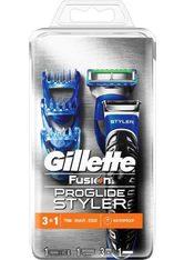 GILLETTE - Gillette Nassrasierer »Fusion ProGlide Styler«, 3-in-1, schwarz, schwarz,blau - RASIER TOOLS