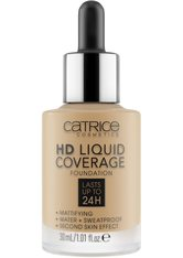 Catrice Teint Make-up HD Liquid Coverage Foundation Nr. 046 Camel Beige 30 ml