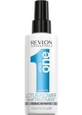 REVLON PROFESSIONAL - Revlon Professional uniq one Lotus Hair Treatment - LEAVE-IN PFLEGE