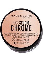 Maybelline New York Highlighter Face Studio Chrome Jelly 20 Metallic R