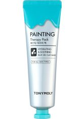 Tonymoly - Painting Therapy Hydrating & Calming Blue Color Gel Clay - Schlammmaske