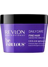 Revlon Professional Haarpflege Be Fabulous Daily Care Fine Hair C.R.E.A.M. Lightweight Mask 200 ml