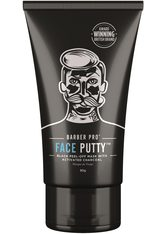 BARBER PRO Gesichtsmaske »Face Putty™«, Black Peel-Off Reinigungsmaske mit Tiefenwirkung, schwarz, 90 gr, 90 g, schwarz