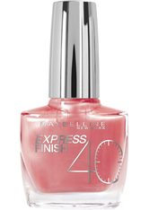 MAYBELLINE - MAYBELLINE NEW YORK Nagellack »Express Finish Shock Control«, rosa, Nr. 405/71 pearly pastell - NAGELLACK