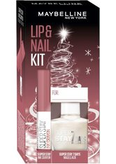 MAYBELLINE - MAYBELLINE NEW YORK Geschenk-Set »Lip & Nail Geschenkset - Trust Your Gut«, 2-tlg. - MAKEUP SETS