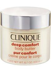 Clinique Körper- und Haarpflege Deep Comfort - Body Butter 200ml Körpercreme 200.0 ml