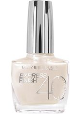 MAYBELLINE - MAYBELLINE NEW YORK Nagellack »Express Finish Shock Control«, weiß, Nr. 60/15 white dream - NAGELLACK