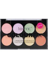 TECHNIC - technic , »Colour Fix Cream Corrector«, Concealer-Palette, 8-tlg. Set - LIDSCHATTEN