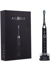 Ailoria Shine Bright USB-Schallzahnbürste schwarz-silber inkl. 2 Bürstenköpfe Zahnbürste 1.0 pieces