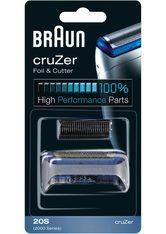 Braun , Ersatzscherteil, 20 S Kombipack für Elektrorasierer, schwarz, schwarz