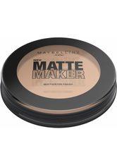 MAYBELLINE - Maybelline Matte Maker Kompaktpuder  Nr. 20 - Nude Beige - GESICHTSPUDER