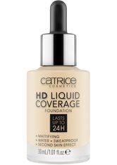 Catrice HD Liquid Coverage Flüssige Foundation  Nr. 002 - Porcelain Beige