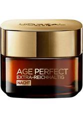 L'Oréal Paris Age Perfect Extra-Reichhaltig Manuka Nachtpflege Gesichtscreme 50 ml Nachtcreme