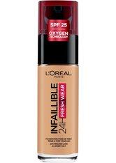 L'Oréal Paris Infaillible 24H Fresh Wear Make-up 250 Radiant Sun Foundation 30ml Flüssige Foundation
