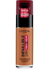 L'Oréal Paris Infaillible 24H Fresh Wear Make-up 340 Copper Foundation 30ml Flüssige Foundation