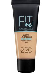 MAYBELLINE NEW YORK Maybelline New York, »FIT ME Matt&Poreless Make-Up«, Make-Up, natur, 30 ml, Nr. 220 natural beige - MAYBELLINE