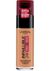 L'Oréal Paris Infaillible 24H Fresh Wear Make-up 275 Rose Amber Foundation 30ml Flüssige Foundation