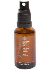 ACARAA NATURKOSMETIK - ACARAA Naturkosmetik Haaröl »Travel Size ohne Silikone mit Cacay«, ohne Silikone mit Arganöl - HAARÖL