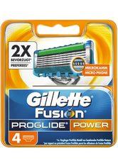 GILLETTE - Gillette Rasierklingen »Fusion ProGlide Power«, 4-tlg. - Rasier Tools