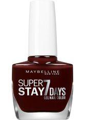 MAYBELLINE - MAYBELLINE NEW YORK Nagellack »Superstay 7 Tage City Nudes«, rot, Nr. 889 Dark Roast - NAGELLACK