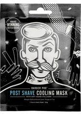 BARBER PRO Gesichtsmaske »Post Shave Cooling Mask™«, mit Anti-Aging Kollagen