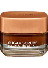 L'ORÉAL PARIS Gesichtspeeling »Sugar Scrub«, glättendes Peeling mit natürlichem Traubenkern-Öl
