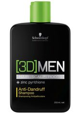 SCHWARZKOPF - Schwarzkopf Professional Haarshampoo »[3D] Men Anti-Dandruff Shampoo«, 1-tlg., Anti-Schuppen, 250 ml - SHAMPOO & CONDITIONER
