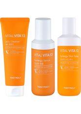 TONYMOLY - TONYMOLY Gesichtspflege-Set »Vital Vita 12« Set, 3-tlg., Jelly Cleanser + Skin Toner + Synergy Serum - PFLEGESETS