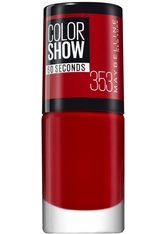 MAYBELLINE - MAYBELLINE NEW YORK Nagellack »ColorShow Nagellack«, rot, 6,7 ml, Nr. 353 red - NAGELLACK