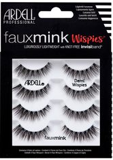 ARDELL - ARDELL Bandwimpern »Faux Mink Demi Wispies Multipack«, 4 Paar aus seidigem Synthetik - Falsche Wimpern & Wimpernkleber