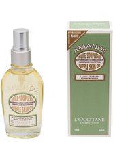 L'OCCITANE Körperöl »Amande Huile Souplesse«, mit Mandelöl und Omega 3, grün, 100 ml, grün