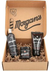 Morgan's Gesichtreinigungs-Set »Gentleman's Grooming Gift Set«, 3-tlg.